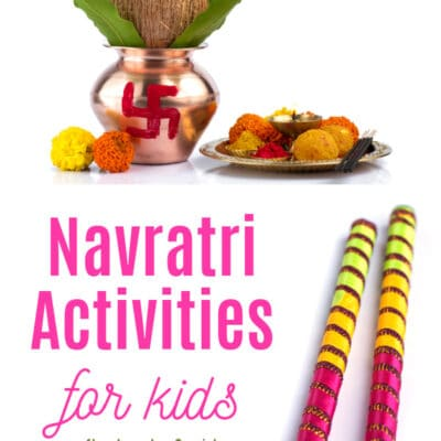 Navratri Activities and Books for Kids
