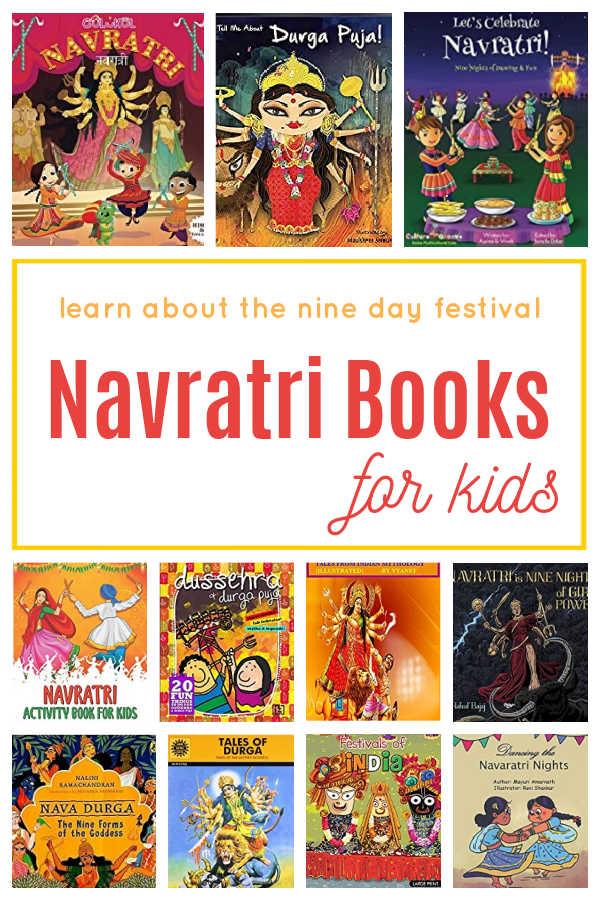 Navratri books for kids to explore the nine day festival