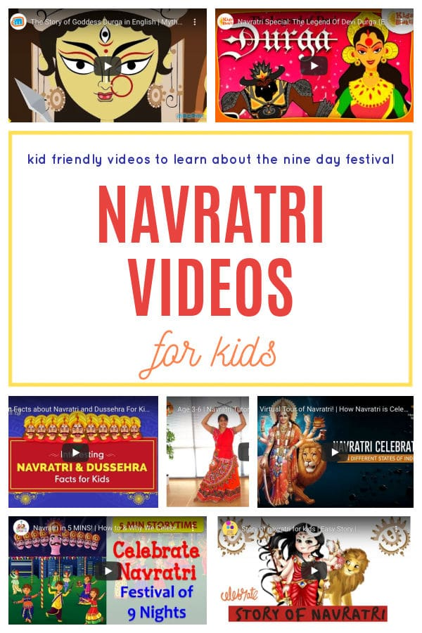 Navratri Videos for Kids to learn about the nine day festival.